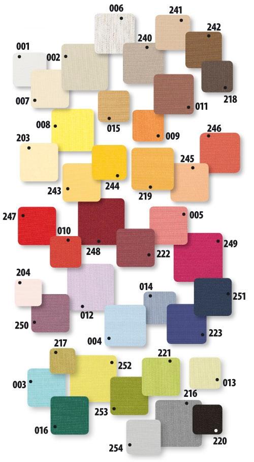 Шторы стандартные ARS-I для мансардных окон (41 расцветка) - 1