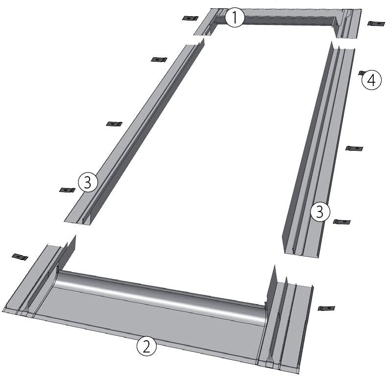 Оклад ESV 1 (для мансардных окон) - 1
